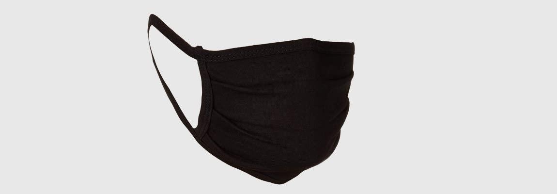 Washable Black Face Mask