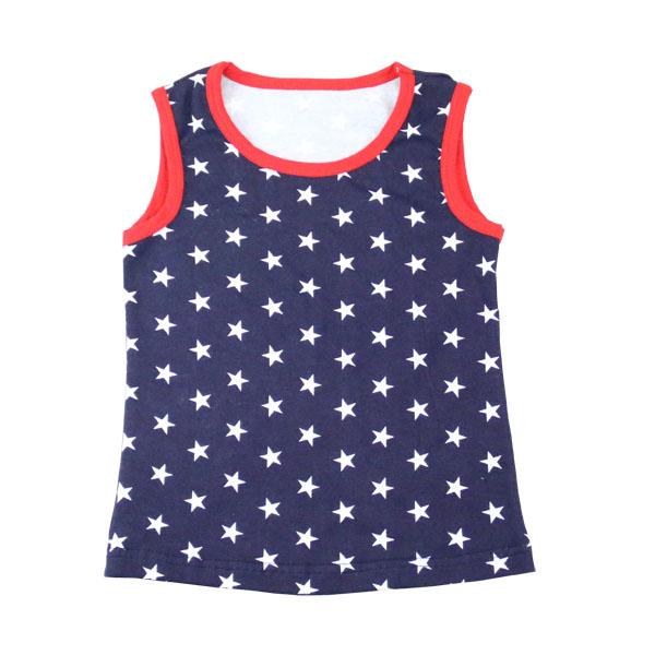 Bangladesh wholesale custom children sports tank top kids clothing sleeveless summer baby boys t shirt in bulk
