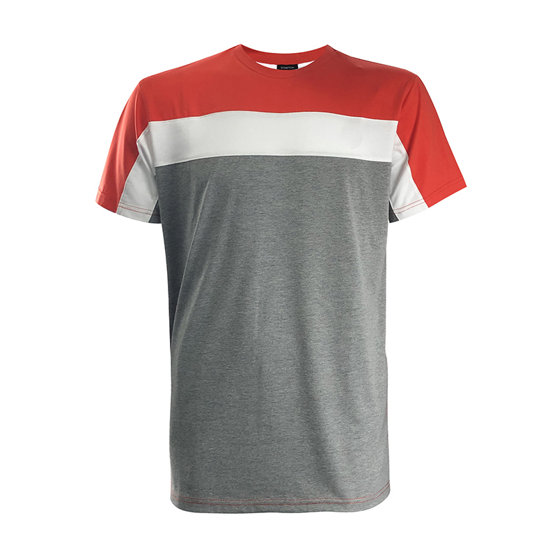Custom High Quality Plus Size T-shirts Men's Cotton Stretch Jersey T-shirt