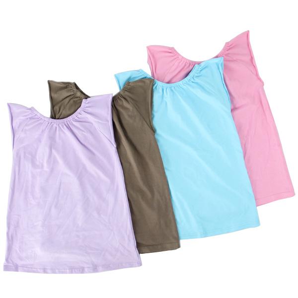 simple cheap cotton children clothes girls underwaist kids clothing sleeveless summer t shirt for toddler girls