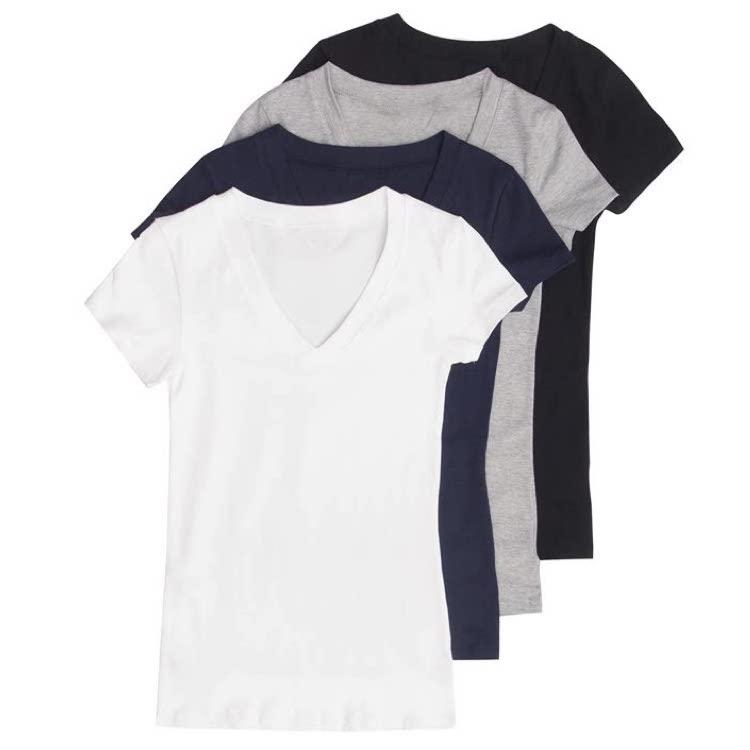 women-s-basic-v-neck-t-shirts